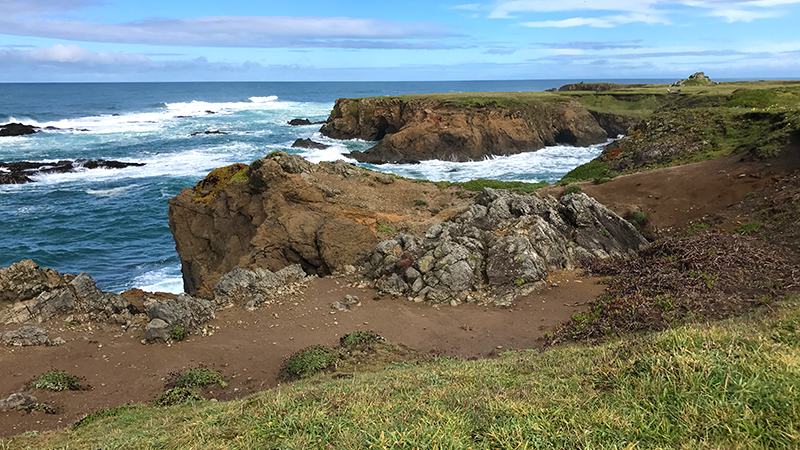 Noyo Headlands Park in Fort Bragg, California
