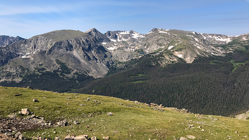 Rock Cut Overlook on Trail Ridge Road in Rocky Mountain National Park